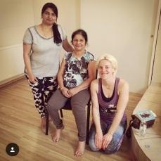 Sri Saraswathi Jois & Sharmila Jois