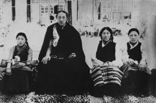 Dilgo Khyentse Rinpoche & Family