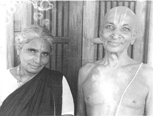 Mr. and Mrs. Krishnamacharya