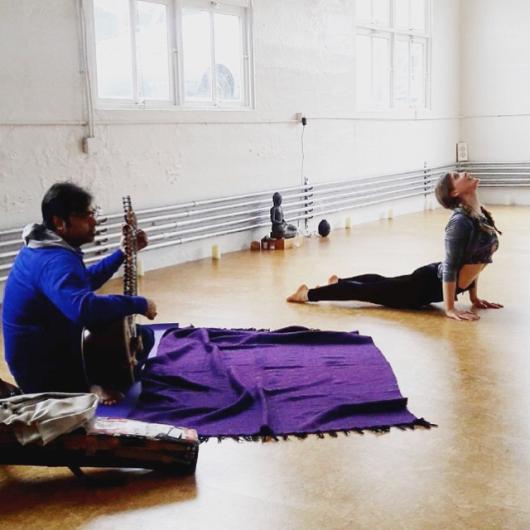 Live Sitar Music & Ashtanga Led Primary Series at Playful Yogi Space, NY