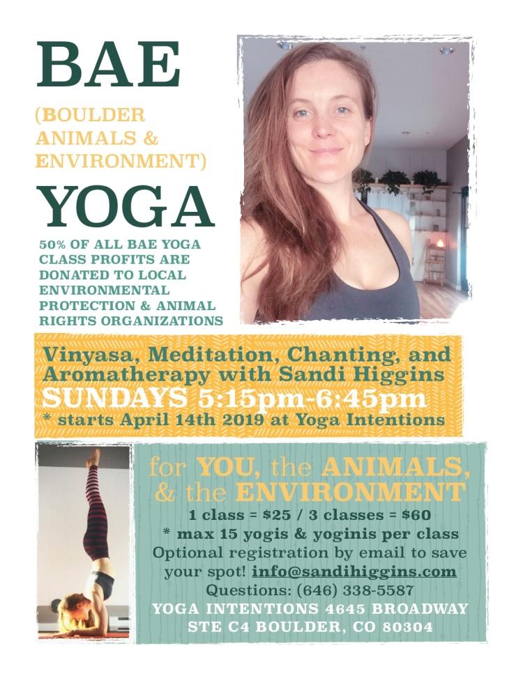 BAE YOGA Sundays Yoga Intentions Final Flyer