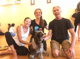 Yoga Workshop reunion with Richard Freeman, Mary Taylor, and Fiesta
