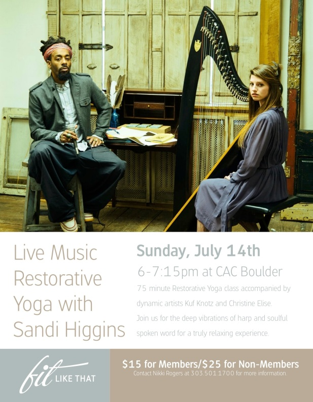 Live music Restorative July 14th